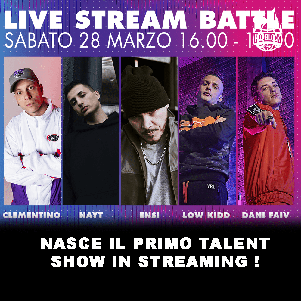 primo-talent-show-in-streaming-con-ensi-clementino-nayt-low-kidd-dani-faiv