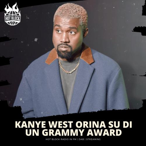 Kanye West orina su un Grammy Award