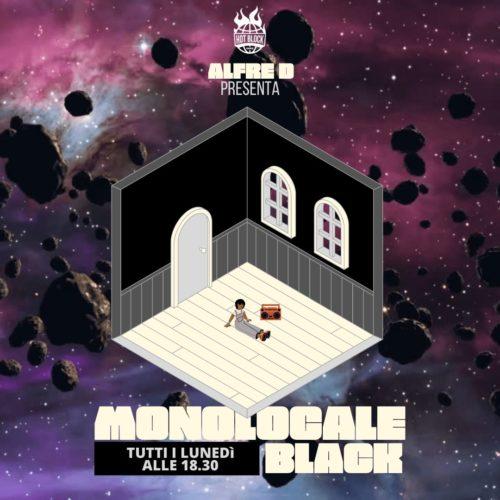 MONOLOCALE BLACK con @Alfre D – Heavyweight Rap