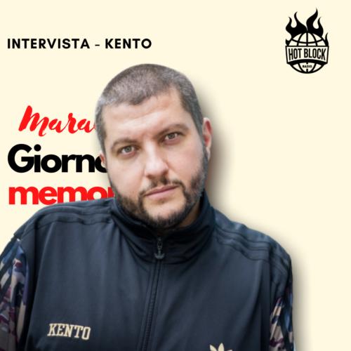 Intervista Kento – SPECIALE: MARATONA GIORNATA DELLA MEMORIA 27.01.21