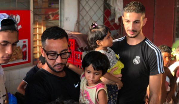 Un viaggio umanitario per Lacrim