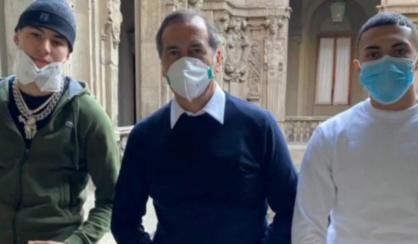 Rondo Da Sosa e Sacky insieme al Sindaco di Milano contro le gang giovanili